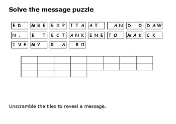 Solve the message puzzle from Navajo Code Talker Test Message