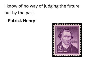 Solve the message puzzle from Patrick Henry