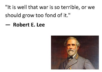 Solve the message puzzle from Robert E Lee
