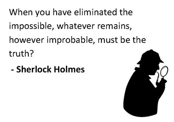 Solve the message puzzle from Sherlock Holmes