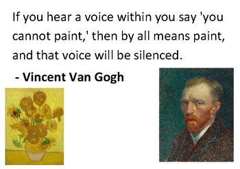Solve the message puzzle from Vincent Van Gogh