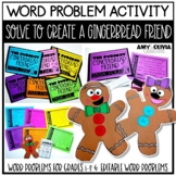 Solve to Create a Gingerbread Friend