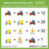 Solvemoji Emoji Classic Puzzles - 50 puzzles - 10 of each