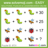 ** EASY ONLY ** - Solvemoji 50 Classic Emoji Puzzles - Wit