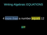 Solving 1 & 2 Step Algebraic Equations w/o Integers Power Point Common Core