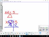 Solving 1-Step Algebraic Equations