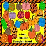 One Step Equations Pumpkin Smash PowerPoint Halloween Game