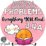 - Solving 1 and 2 Step Story Problems - Addition and Subtraction 3.4A TEKS