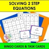 Solving 2 Step Equations Bingo