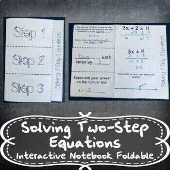 Solving 2-Step Equations & Inequalities w/ Number Lines IN