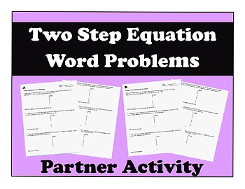Solving 2 Step Equations from a Description