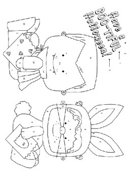 Solving 2-Step Equations Halloween Coloring Activity