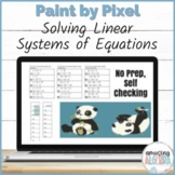 Solving 2x2 Systems Review DIGITAL Pixel Art Distance Learning