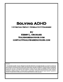 Solving ADHD