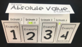 Solving Absolute Value Equations (Algebra Foldable)