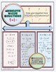 Solving Absolute Value Equations Doodle Notes or Graphic Organizer