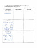 Solving Absolute Value Equations - Find the Mistake