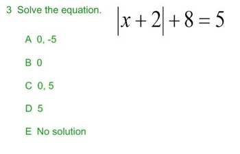 Solving Absolute Value Equations SmartBoard