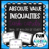 Solving Absolute Value Inequalities QR Task Cards