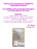 Solving Addition Equation Foldable - Interactive Notebook