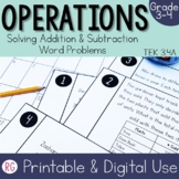 Solving Addition and Subtraction Word Problem Activities