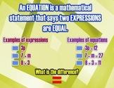 Solving Algebraic Equations - Addition Poster