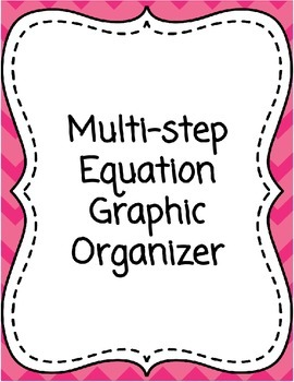 Solving Algebraic Equations - Multi-step Equation Graphic
