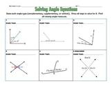 Solving Angle Equations With Challenge