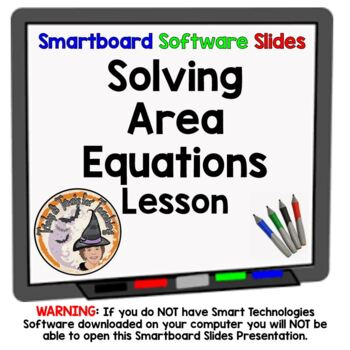 Solving Area Equations Geometry Solve Area Formula Triangl