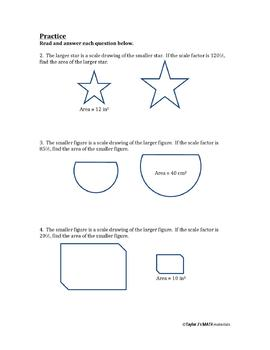 Solving Area Problems Using Scale Drawings Worksheet