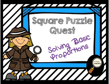 Solving Basic Proportions - Square Puzzle Quest