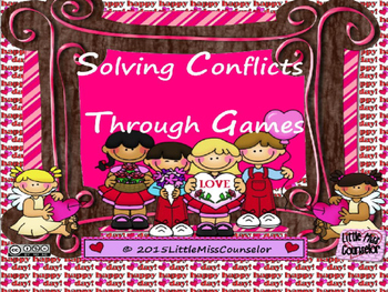 Solving Conflicts through Games:  PowerPoint Lesson on Social Skills