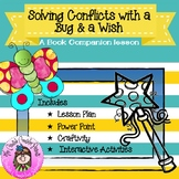 Solving Conflicts with Bug and a Wish Conflict Resolution