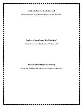 Solving Dissolving Response Sheet