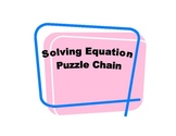 Solving Equation Puzzle Chain