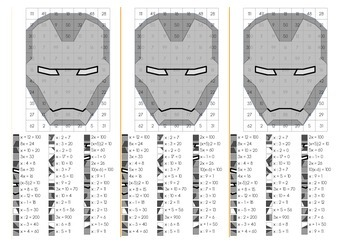 Solving Equation with Iron Man