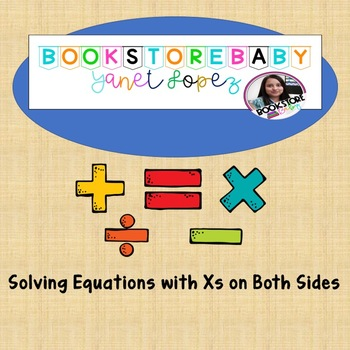 Solving Equation with Xs on Both Sides