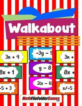 Walkabout Solving Equations Activity