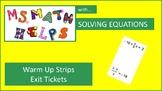 Solving Equations