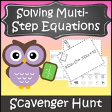 Algebra 1 Solving Equations Activity {Solving Multi-Step Equations Activity}