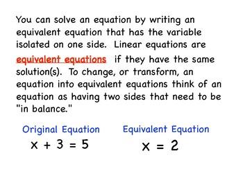 Solving Equations Algebra PDF