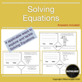 Solving Equations, Applicable Ways to Master the Concept!