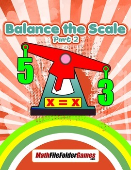 Solving Equations - Balance the Scale, Part 2