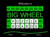 Solving Equations Big Wheel Game