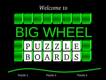 Solving Equations Big Wheel Game