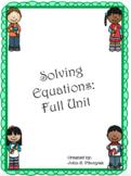 Solving Equations (Complete Bundle)