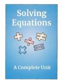 Solving Equations- Complete Unit