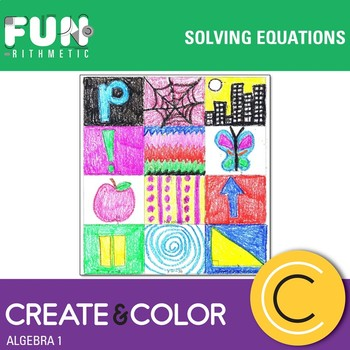 Solving Equations Create and Color