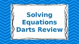 Solving Equations Darts Review