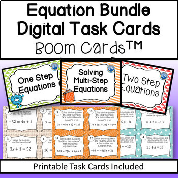 picture regarding Blue Mountain Printable Cards named Resolving Equations B00M Card Deal In addition Printable Playing cards